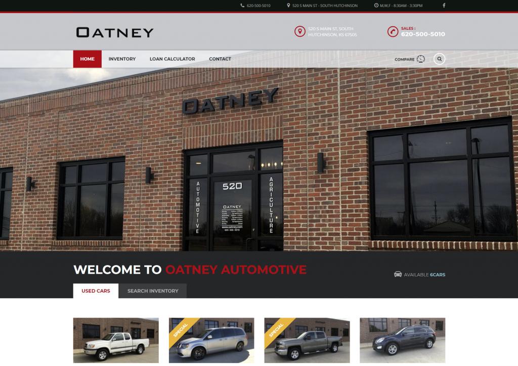 Car Dealerships In Hutchinson Ks >> Oatney Automotive